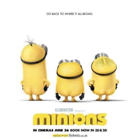 Minions is listed (or ranked) 1 on the list Good Movies for 4-Year-Olds