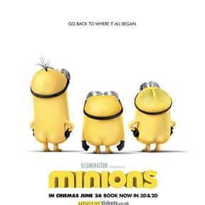 Minions is listed (or ranked) 2 on the list The Best Comedies Rated PG