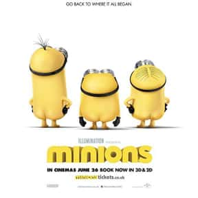 Minions is listed (or ranked) 4 on the list The Best 3D Films