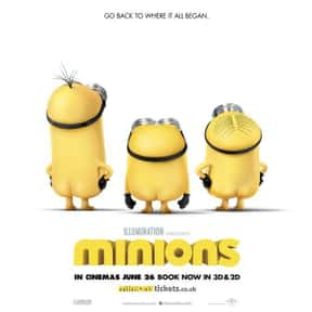 Minions is listed (or ranked) 1 on the list Good Movies for 11 Year Olds