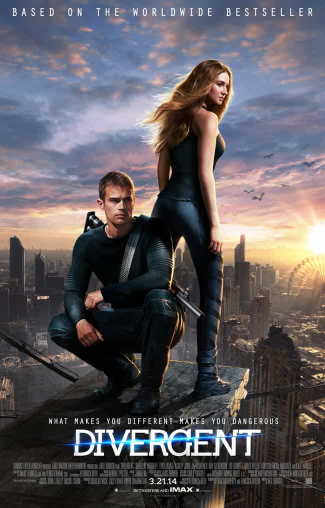 Divergent is listed (or ranked) 3 on the list What to Watch If You Love Quantico
