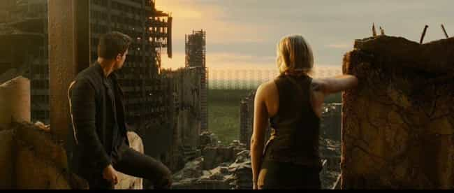 Divergent is listed (or ranked) 2 on the list The Most Apocalyptic YA Dystopias Of The Decade