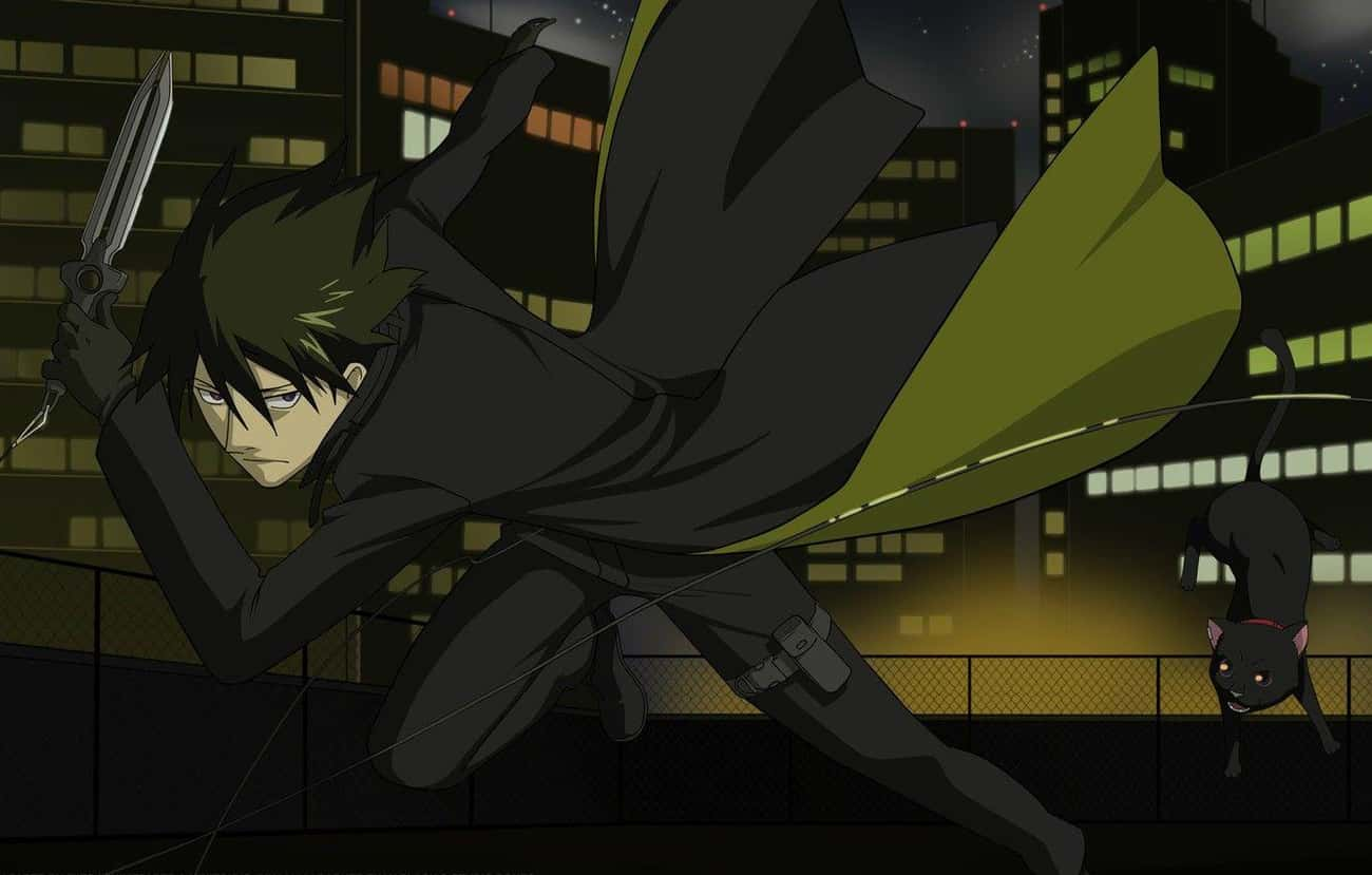 """Hei - 'Darker Than Black' is listed (or ranked) 4 on the list 15 Anime 'Knife Nuts"""" Who Prefer To Fight With Knives"""