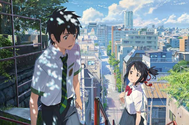 Your Name is listed (or ranked) 1 on the list 16 Great Anime You Can't Watch on Crunchyroll