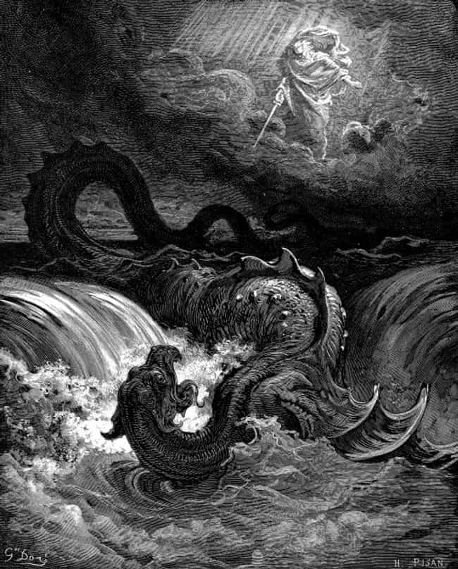 Leviathan is listed (or ranked) 4 on the list The Most Horrific Beasts And Creatures Found In 'The Bible'