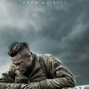 Fury is listed (or ranked) 7 on the list Great Movies So Patriotic, They Are Basically American Propaganda
