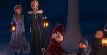 'Olaf's Frozen Adventu is listed (or ranked) 6 on the list Kids' Movies That Proved Surprisingly Controversial