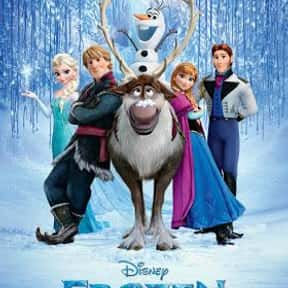 Frozen is listed (or ranked) 3 on the list The Best Disney Princess Movies
