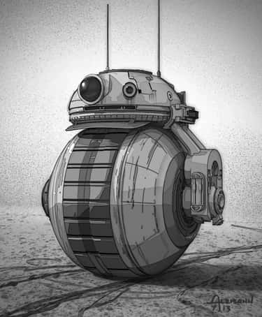 Unused BB-8 for Star Wars: The Force Awakens