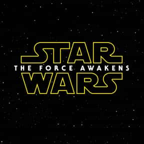 Star Wars: The Force Awakens is listed (or ranked) 1 on the list The Highest Grossing Movies of All Time