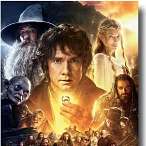 The Hobbit is listed (or ranked) 14 on the list The Best Fantasy Movies Based on Books