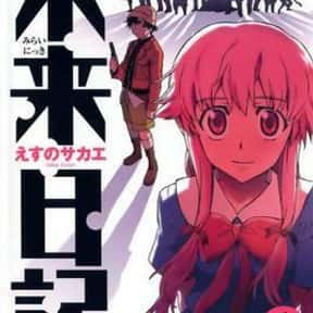 Mirai Nikki is listed (or ranked) 9 on the list The Best Gore Anime of All Time