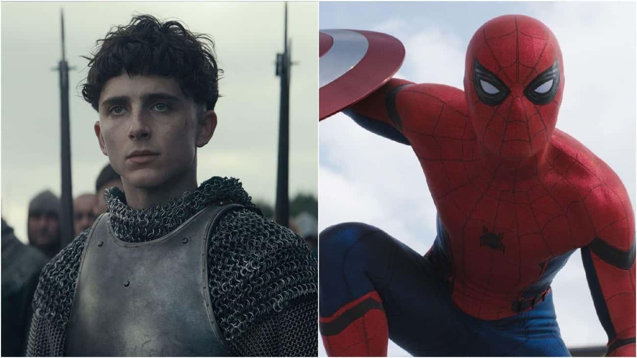 Timothée Chalamet Sweat Through His 'Spider-Man' Audition For Marvel