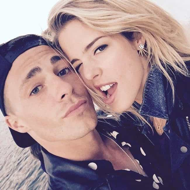 Emily Bett Rickards is listed (or ranked) 2 on the list Colton Haynes Loves and Hookups