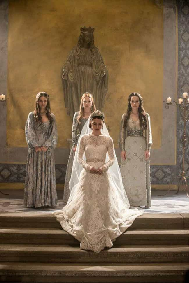 Reign is listed (or ranked) 4 on the list The Best Wedding Dresses Ever From TV Historical Dramas