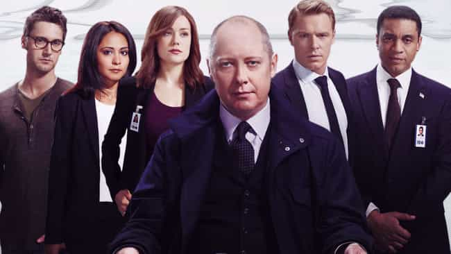 The Blacklist is listed (or ranked) 3 on the list The Most Attractive NBC Primetime Series Casts