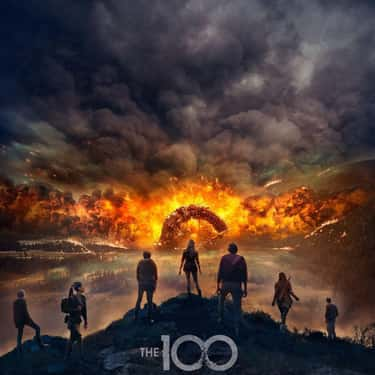 The 100 is listed (or ranked) 1 on the list The Best Sci-Fi Shows Based On Books