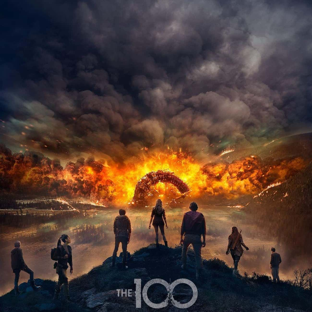 The 100 is listed (or ranked) 1 on the list What to Watch If You Love 'Z Nation'