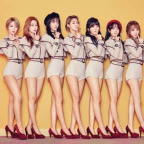 AOA is listed (or ranked) 15 on the list The Best K-pop Girl Groups Of All-Time