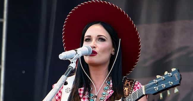 Kacey Musgraves is listed (or ranked) 8 on the list These Celebrity Spotify Playlists Give Listeners A Peek At What Their Faves Are Jamming To