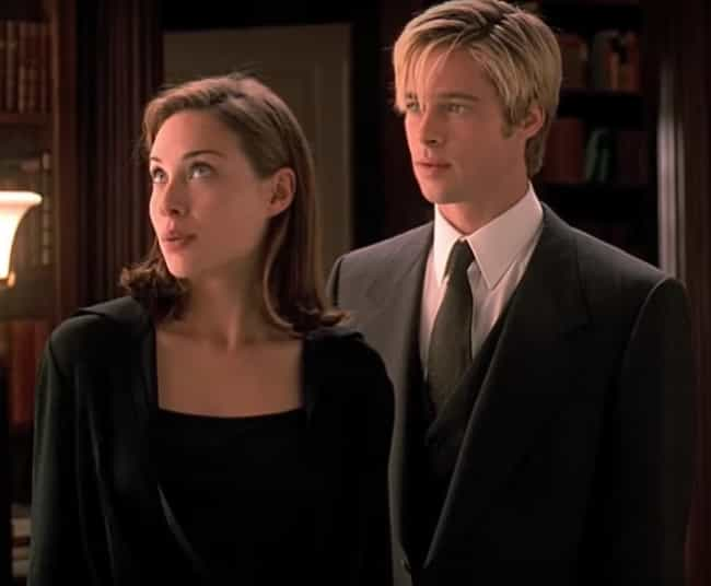 Claire Forlani is listed (or ranked) 4 on the list Brad Pitt's Loves & Hookups