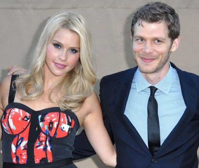 Claire Holt is listed (or ranked) 2 on the list Joseph Morgan Loves and Hookups