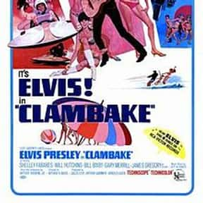 Clambake is listed (or ranked) 8 on the list The Best '60s Beach Movies