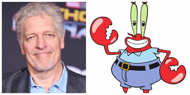 Clancy Brown is listed (or ranked) 4 on the list 'SpongeBob SquarePants' Actors Vs. The Characters They Voice