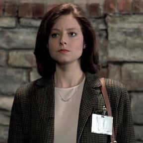 Clarice Starling is listed (or ranked) 4 on the list The Very Best Actress Performances, Ranked