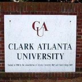Clark Atlanta University is listed (or ranked) 13 on the list Black Enterprise's Top 50 Colleges For African Americans