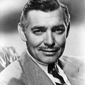 Clark Gable is listed (or ranked) 16 on the list The Greatest Actors & Actresses in Entertainment History