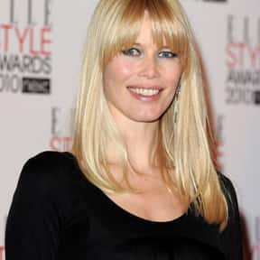 Claudia Schiffer is listed (or ranked) 1 on the list Famous People Named Claudia