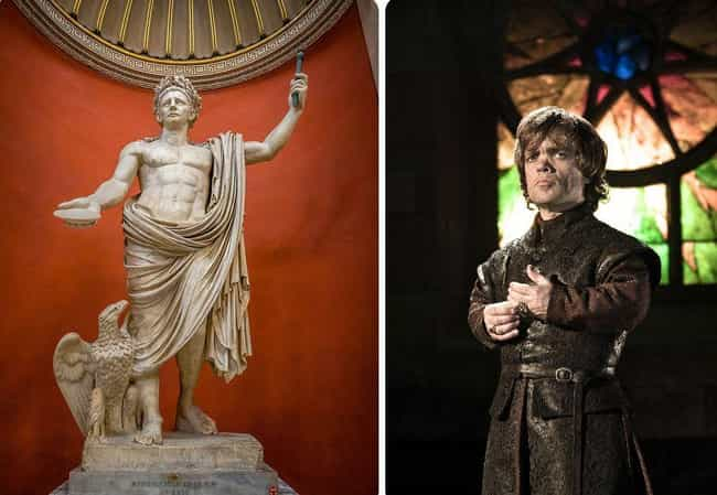 Claudius is listed (or ranked) 2 on the list Real Historical Figures Who Inspired Game Of Thrones Characters