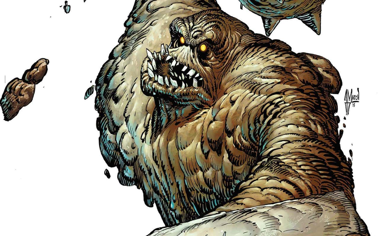 Clayface is listed (or ranked) 3 on the list Heavyset Comic Book Characters That Are Surprisingly Nimble