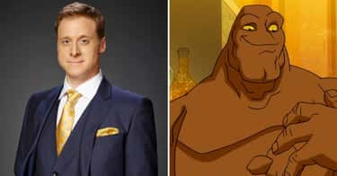 Alan Tudyk - Clayface is listed (or ranked) 1 on the list 'Harley Quinn' Actors Vs. The Characters They Voice