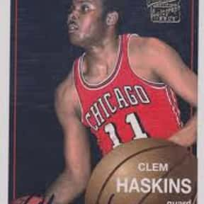 Clem Haskins is listed (or ranked) 25 on the list The Best NBA Point Guards of the 1970s