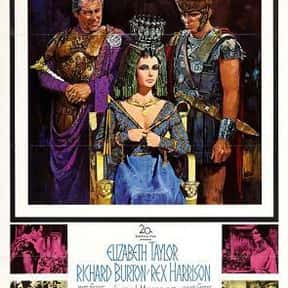 Cleopatra is listed (or ranked) 19 on the list The Best Oscar-Nominated Movies of the 1960s