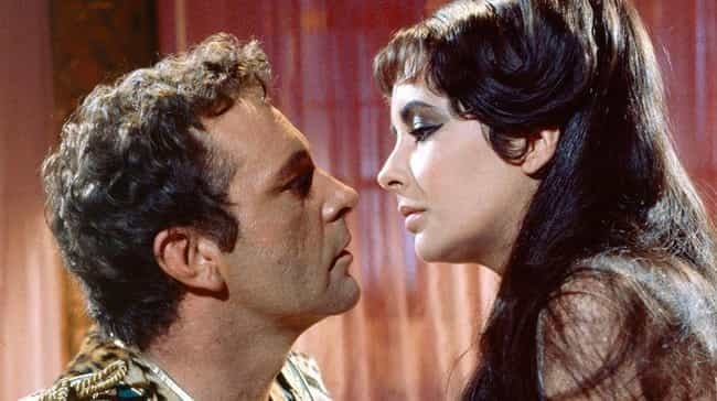 Cleopatra is listed (or ranked) 1 on the list 14 Movies That Totally Shattered Celebrity Marriages
