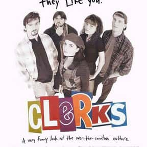 Clerks is listed (or ranked) 5 on the list The Best Comedies About the Workplace