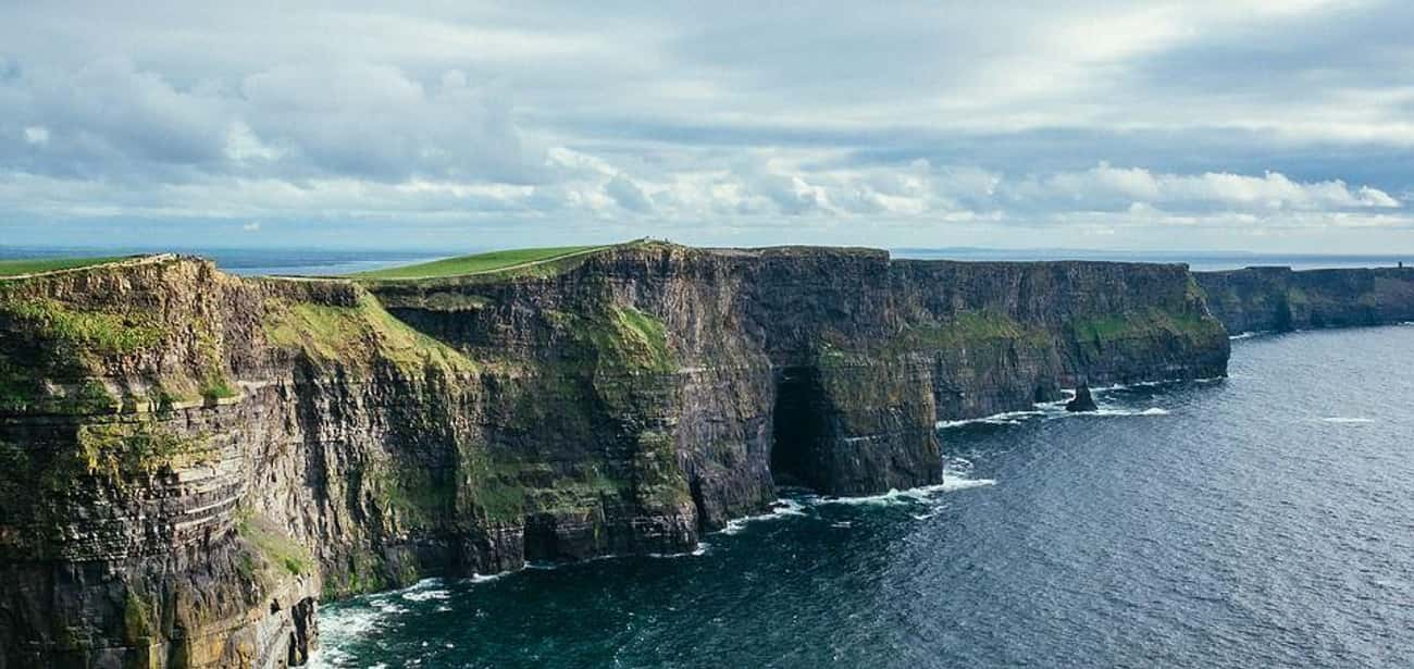 Cliffs of Moher is listed (or ranked) 4 on the list The Most Beautiful Places in Europe