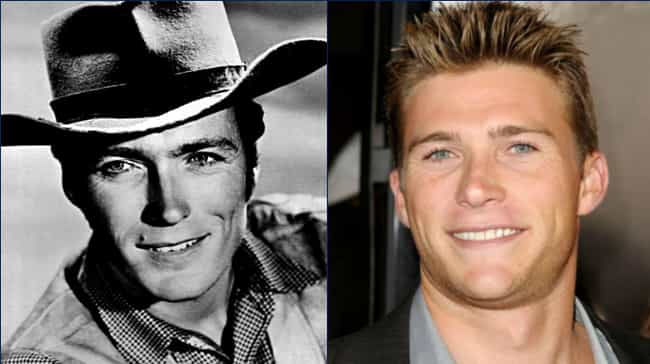 Clint Eastwood is listed (or ranked) 3 on the list You're Seeing Double: Celebrities Who Cloned Themselves