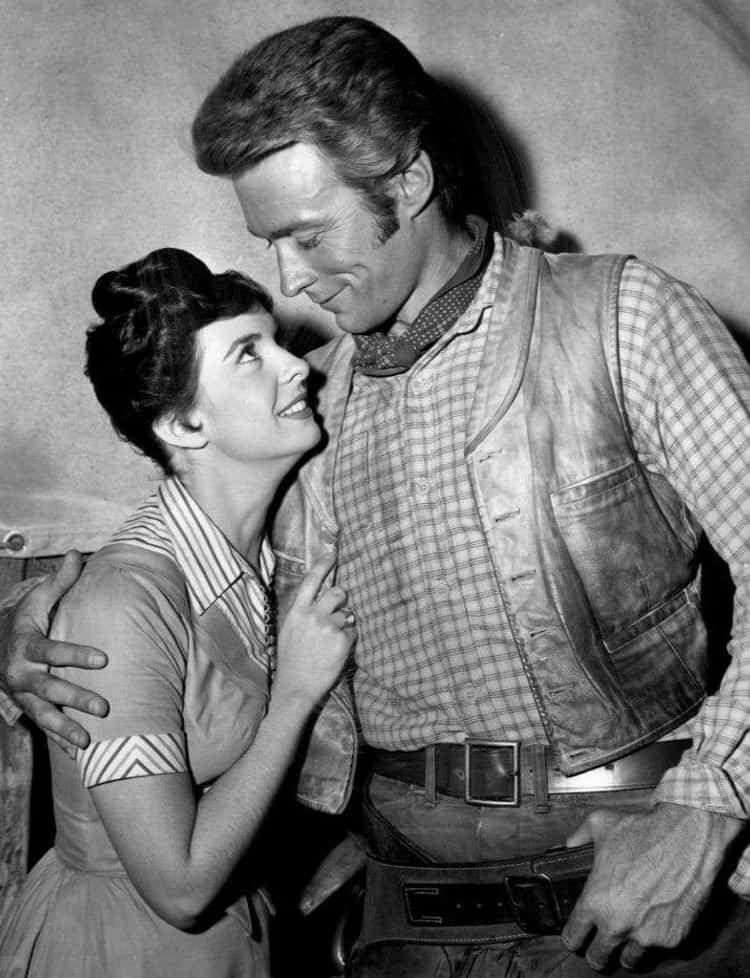 Clint Eastwood & Maggie Johnson