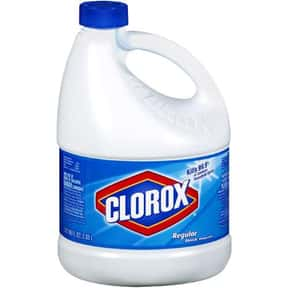 Clorox is listed (or ranked) 2 on the list The Best Laundry Detergent Brands