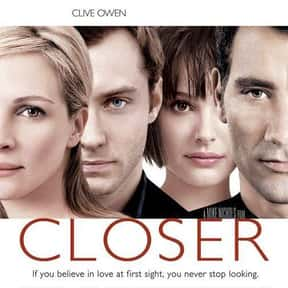 Closer is listed (or ranked) 8 on the list 30+ Great Movies About Depression in Women