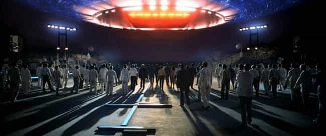 Close Encounters of the ... is listed (or ranked) 3 on the list Seemingly Happy Movie Endings With Unhappy Consequences