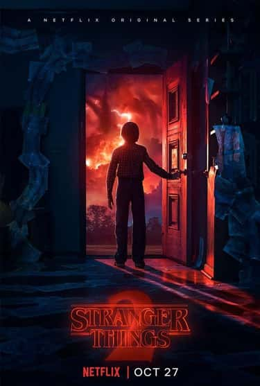 Close Encounters Of The Third  is listed (or ranked) 2 on the list '80s Inspired Stranger Things Posters