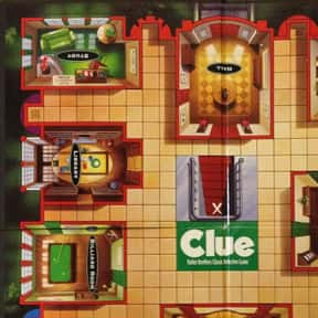Clue is listed (or ranked) 1 on the list The Best Family Board Games