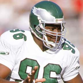 Clyde Simmons is listed (or ranked) 23 on the list List of Famous Football Defensive Linemans