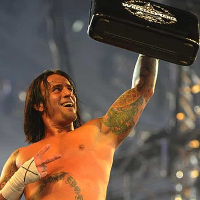 CM Punk is listed (or ranked) 2 on the list The Best WWE Money in the Bank Winners