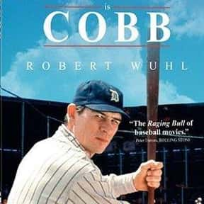 Cobb is listed (or ranked) 25 on the list The All-Time Best Baseball Films